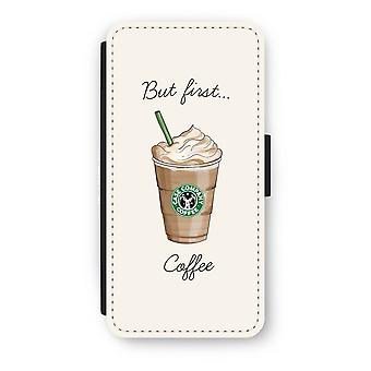 iPhone 6/6s Flip Case - But first coffee