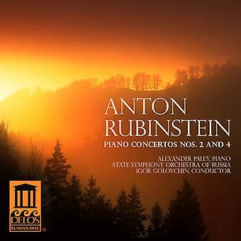 Anton Rubinstein - Rubinstein: Piano Concertos Nos. 2 & 4 [CD] USA import