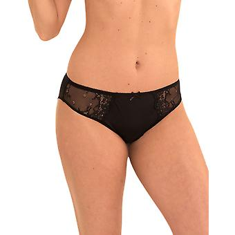 LingaDore 1400B-2 Women's Daily Lace Black Knickers Panty Full Brief