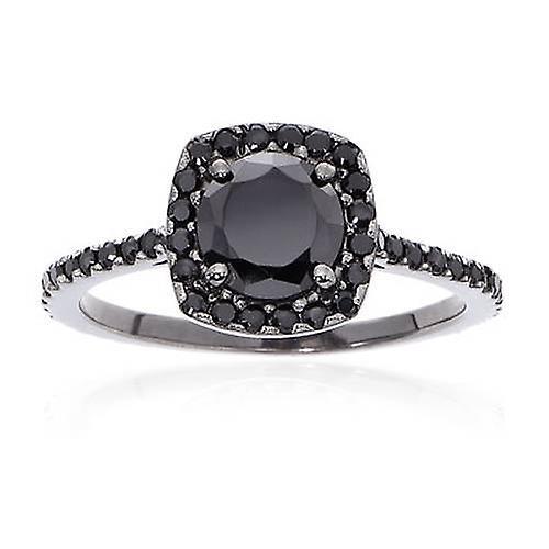 svarta diamanter ring