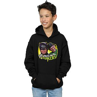 DC Comics Boys Batman TV Series The Riddler Joke Hoodie