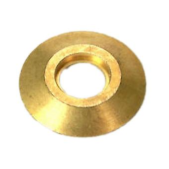 Meyco DKFLG Brass Deck Flange Anchor For Inground Swimming Pool Safety Cover