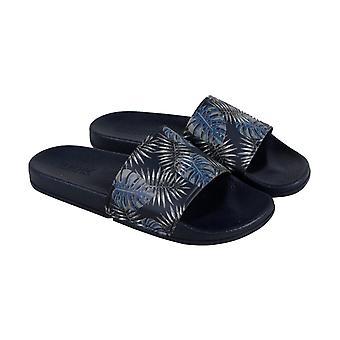 Kenneth Cole Reaction Screen Slide B Mens Blue Slides Sandals Chaussures