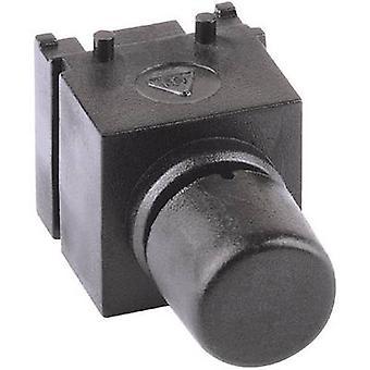 Mentor 1852.6231 Pushbutton 60 V DC/AC 0.5 A 1 x 1 momentânea fora (sobre) computador (es)