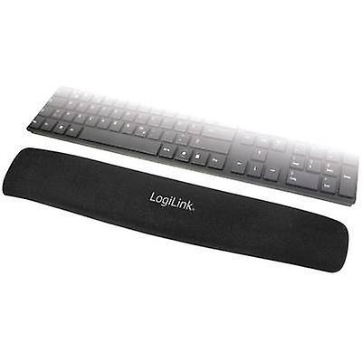 LogiLink ID0044 Gel wrist support mat Black