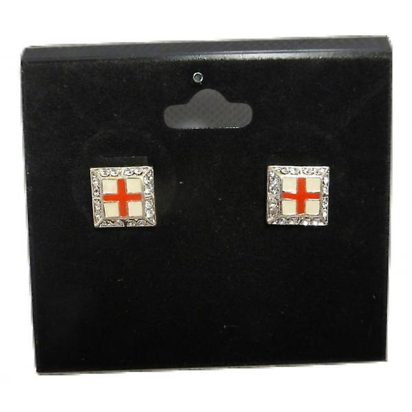 Union Jack Wear St George Cross England Cuff Links