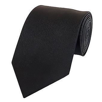 Amarrar a gravata gravata gravata 8cm preto uni tira estrutura Fabio Farini