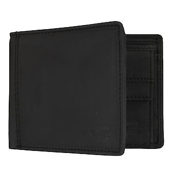 Camel active mens wallet wallet purse with RFID-chip protection black 7325