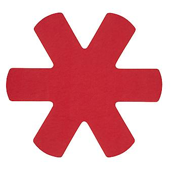 Dexam Pan Protectors Set of 3, Red