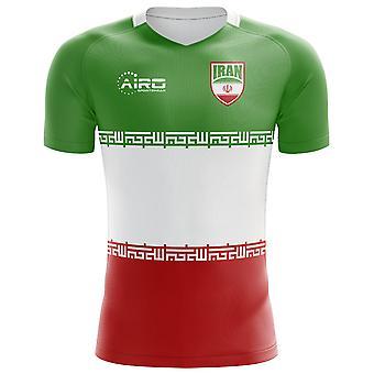 2020-2021 Iran Flag Concept Football Shirt (Kids)