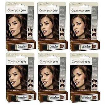 Cover Your Gray Touch-Up Stick Dark Brown (6-PACK)