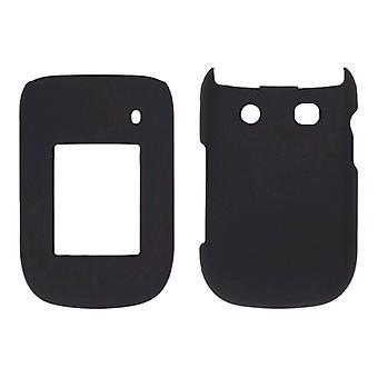 Pedazo de Sprint dos tacto Snap-funda para BlackBerry Style 9670 - negro