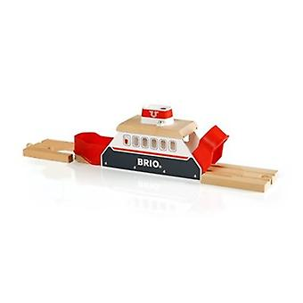 BRIO Ferry Ship 33569 for Wooden Railway Set