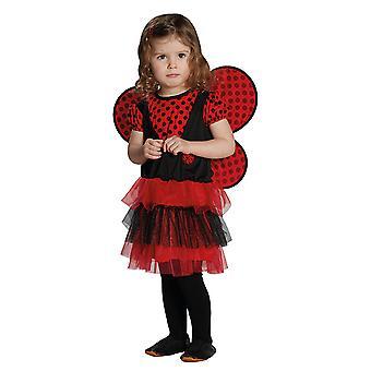 Mariehøne kostume kjole beetle kostume til børn