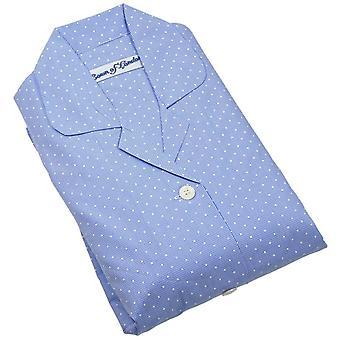 Bown of London Soho Pyjamas - Light Blue