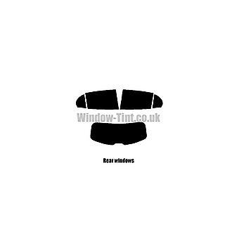 Pre corte tintado - Mercedes GLA 5-puerta - 2014 y nuevos - posterior windows
