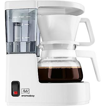 Melitta 6707248 Aromaboy Kaffeemaschine Weiß