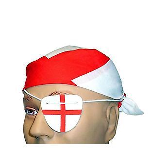 Bnov Anglii St George Bandana idealna na oku
