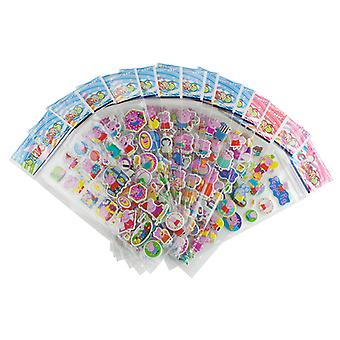 Peppa Pig stickers in 3D-6 pcs sheets (approx. 72 pcs)
