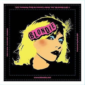 Blondie Fridge Magnet Punk band Logo new Official 76mm x 76mm
