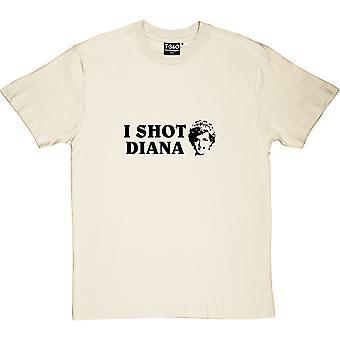 I Shot Diana Natural Men's T-Shirt