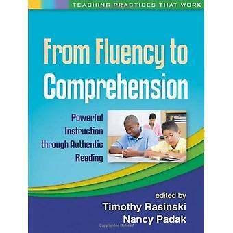 Van Fluency aan begrip: krachtige instructie door authentiek lezing (onderwijs praktijken die werken)