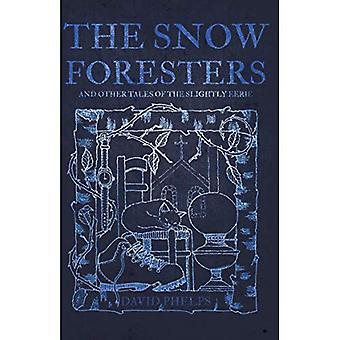 Os silvicultores de neve