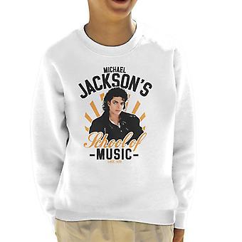 Michael Jacksons skola av musik Kids tröja
