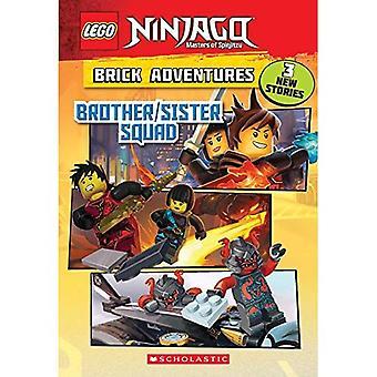 Bruder/Schwester Kader (Lego Ninjago: Ziegel-Abenteuer) (Lego Ninjago Kapitel Buch)