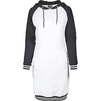 Urban Classics női Sweat ruha kontraszt College kapucnis