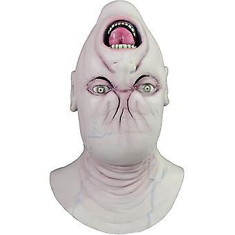 Máscara para Halloween al revés