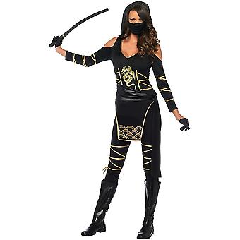 Adult Stealth Ninja Woman Costume