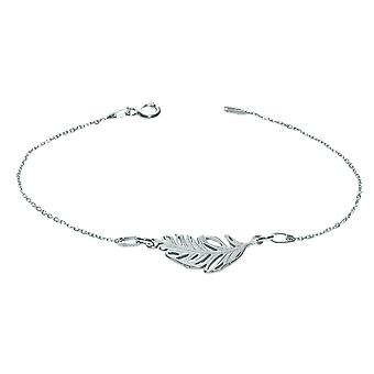 Ah! Biżuteria Sterling Silver Feather 20cm Bransoletka