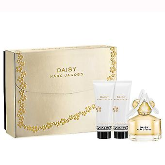 Daisy Gift Set by Marc Jacobs 50ml EDT & 75ml voidetta & 75ml S/geeli