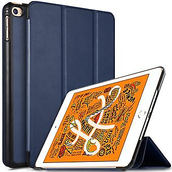 iPad Mini 2019/Mini 4 Slim fit Tri-fold case-Dark Blue