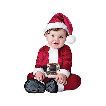 Kids Baby Santa Christmas Fancy Dress Costume