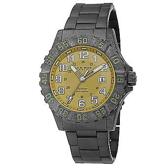 Akribos XXIV AK794BK Quartz dykare kolfiber Case svart arm band Watch