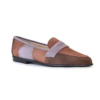 Amalfi av Rangoni kvinner Oriana Leather Almond toe loafers