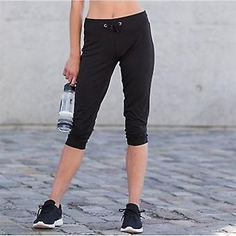 Skinni Fit Womens/Ladies Three Quarter Workout Pants / Bottoms
