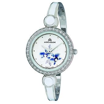 Andre Mouche - Wristwatch - Ladies - ARIA-CRYSTAL-FLOWER - 459-01071