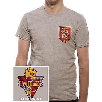 Harry Potter Unisex Adults Gryffindor House Crest Design T-Shirt