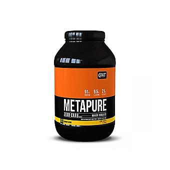 QNT Metapure Zero Carb Fat Free Whey Protein Isolate Powder (Banana) 908g