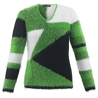 MARBLE Marble Green Sweater 5428