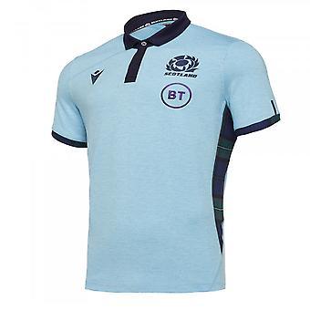 2019-2020 סקוטלנד לסירוגין חולצת כותנה רוגבי