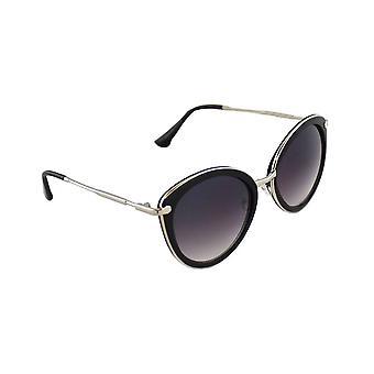 Sunglasses Women Cat Eye - Silver/ZwartHL179_3