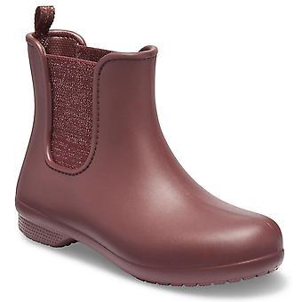 Crocs Womens Freesail metallisk Chelsea støvle