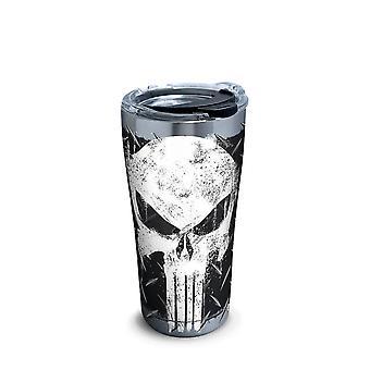 Punisher Edelstahl Tervis ™ Reisebecher mit HammerDeckel