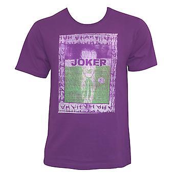 Joker brodé Frame Purple Tee Shirt