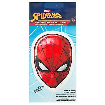 Spider-Man Masker 4,5 inch sticker