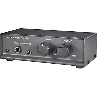 SpeaKa Professional Headphone amplifier Black